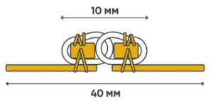 P10 coil (sewn)