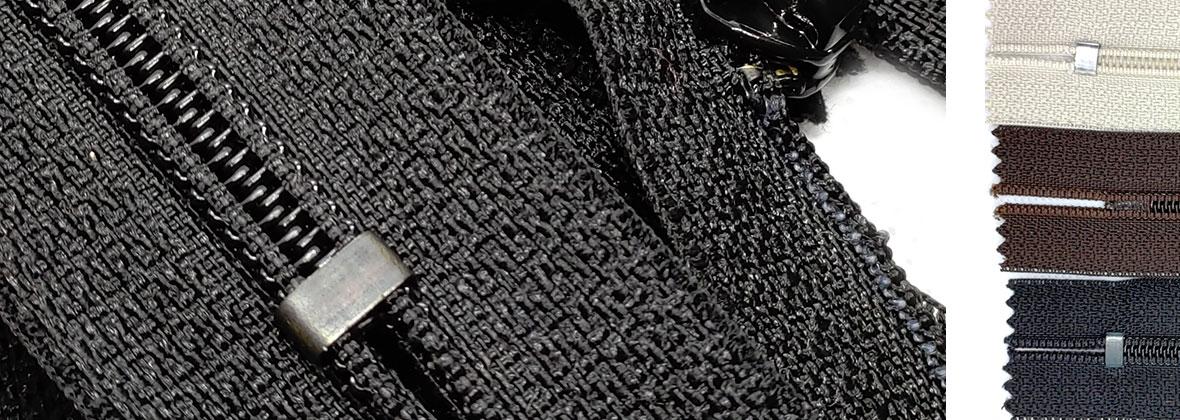 Нероз'ємна блискавка незамінна для одягу та аксесуарів